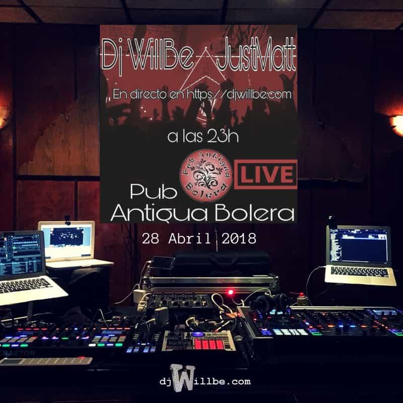 180428PubAntiguaBoleraJustMatt-djWillBe-LIVE-Cover.jpg