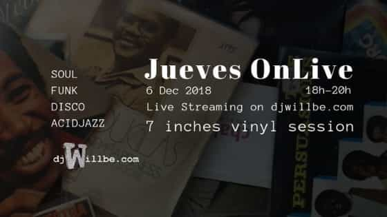 Jueves OnLive 7 inches Vinyl Session